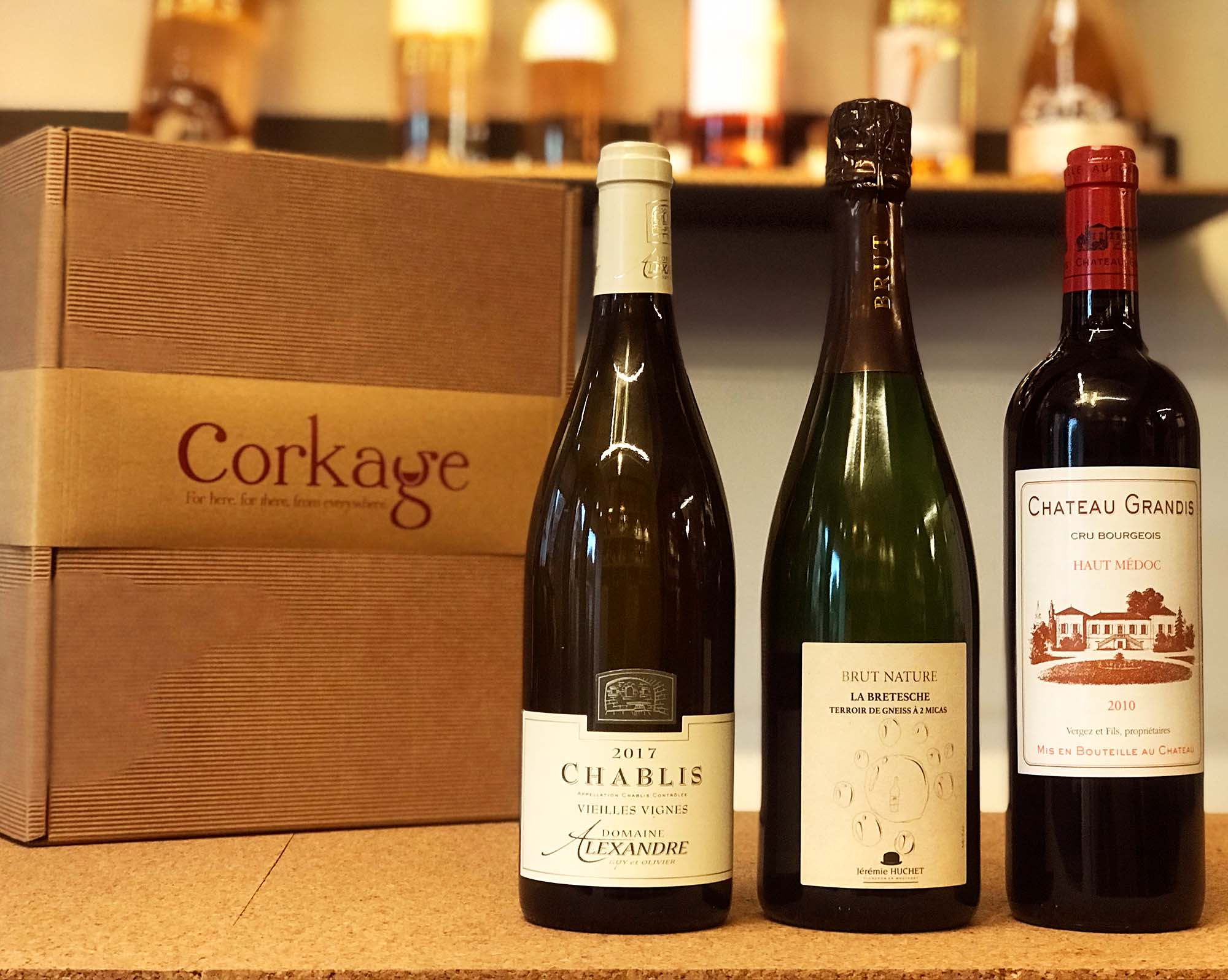 £50 Corkage Wine Gift Box
