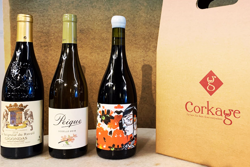 3 Bottle selection